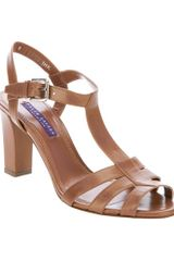 Ralph Lauren Daphne Sandal in Brown - Lyst