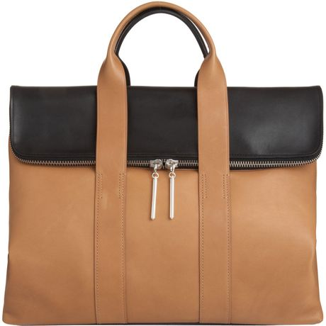 3.1 Phillip Lim 31 Hour Bag in Brown (black) - Lyst