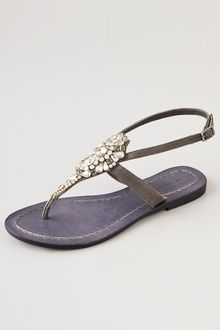 Antik Batik Sienna Crystal Thong Sandals - Lyst