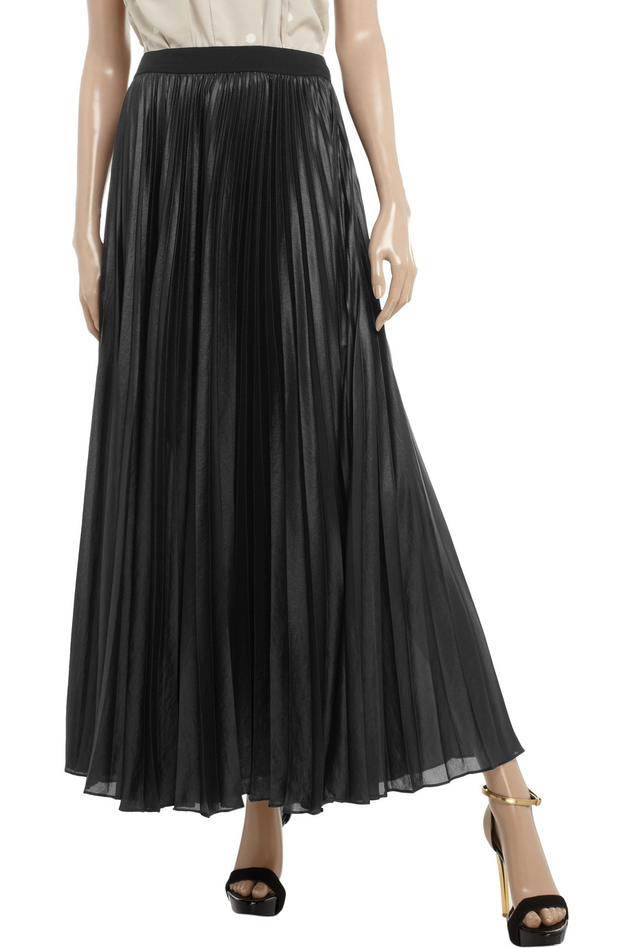Discover maxi skirts with ASOS. Our long skirts are voluminous, with wafting chiffon pleats and in bold colours for casual day wear or for a stylish evening out. Outrageous Fortune sequin maxi wrap skirt with front split in black. £ Needle & Thread tulle maxi skirt in purple.