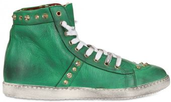Chiara Ferragni High Top Sneaker - Lyst