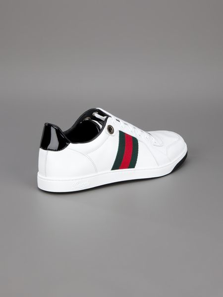 Gucci Classic Sneaker In White For Men Lyst