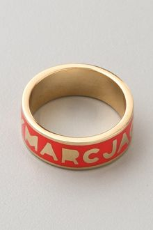 Marc By Marc Jacobs Dreamy Logo Band Ring - Lyst