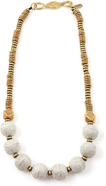 Vanessa Mooney Clara Necklace in White - Lyst