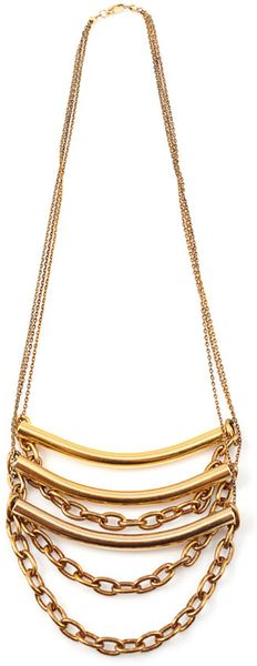 Vanessa Mooney Johnny Necklace in White - Lyst