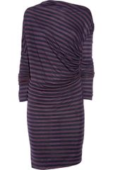 Vivienne Westwood Anglomania Striped Woolblend Jersey Dress - Lyst