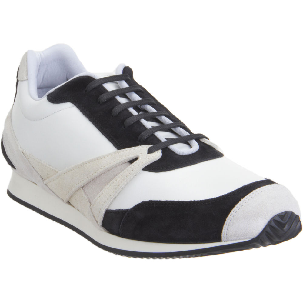 balenciaga low top running sneaker in white for men black lyst. Black Bedroom Furniture Sets. Home Design Ideas