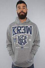 Kr3w The Champion Hoody in Gunmetal - Lyst