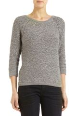 Marc By Marc Jacobs Button Back Sweater - Lyst