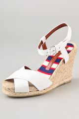 Marc By Marc Jacobs Espadrille Wedge Sandals - Lyst