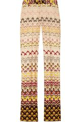 Missoni Organzabacked Crochetknit Pants - Lyst