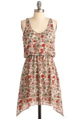 ModCloth Botanists Bookshelf Dress - Lyst