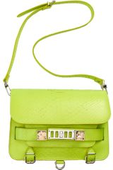 Proenza Schouler Ps11 Classic Python in Green (multi) - Lyst