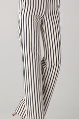 10 Crosby by Derek Lam Wide Leg Striped Pants - Lyst