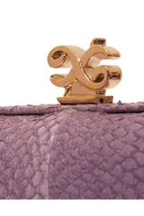 Alexandra De Curtis Rita Box Clutch Beige Crocodile and Lambskin in Beige - Lyst