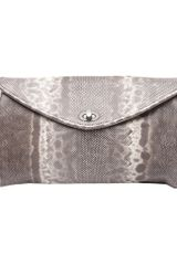 Bottega Veneta Karung Twist Clutch - Lyst