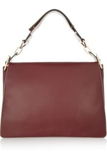 Chloé Jade Large Leather Shoulder Bag - Lyst