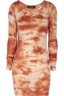 Isabel Marant Tie Dye Print Cotton Jersey Dress - Lyst