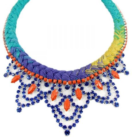 Jolita Jewellery Malaga Necklace in Blue - Lyst