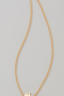 Marc By Marc Jacobs Dreamy Logo Delicate Sweetie Pendant Necklace - Lyst
