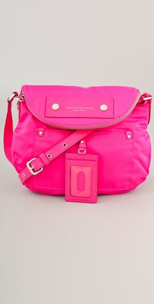 Marc By Marc Jacobs Preppy Nylon Natasha Bag in Pink - Lyst