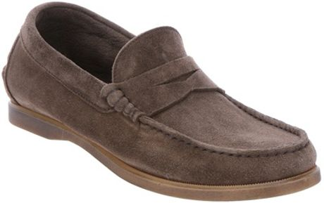 Migliore Suede Moccasin Shoes in Brown for Men - Lyst