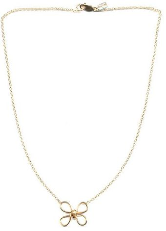Peggy Li Butterfly Twist Necklace - Lyst