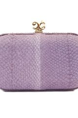 Alexandra De Curtis Rita Box Clutch Lilac Salmon in Purple (lilac) - Lyst