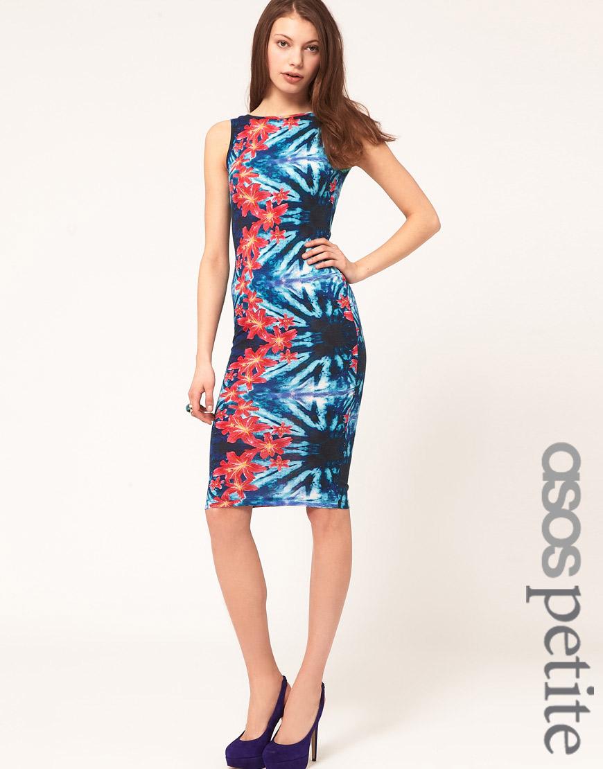 d199ef4dcb9 Asos Petite Floral Midi Dress - Data Dynamic AG