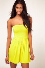 ASOS Collection Asos Bandeau Skater Dress - Lyst