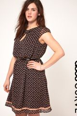Asos Curve Exclusive Dress In Elephant Print - Lyst