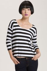 Bailey 44 Buh Bye Back Strap Stripe Top - Lyst