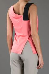 Balenciaga Vest Top in Pink - Lyst