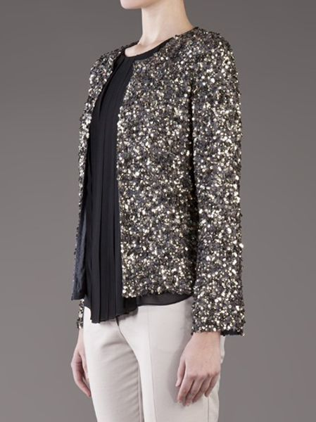 Zara Silver Sequin Cardigan 94