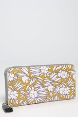 Diane Von Furstenberg Vintage Zip Around Wallet - Lyst