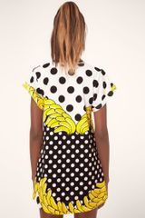 Fairground Bananas Print Tshirt Dress in Yellow (bananas) - Lyst