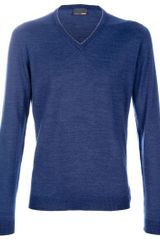 Fendi Cotton Sweater - Lyst