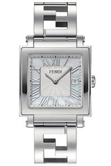 Fendi Quadro Large Stainless Steel Bracelet Watch - Lyst