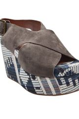 Jeffrey Campbell Pisa Fab Platform in Gray (grey) - Lyst