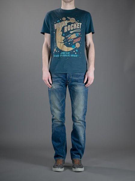 5037174fcfc Levi's 501 Slim Fit Jeans in Blue for Men