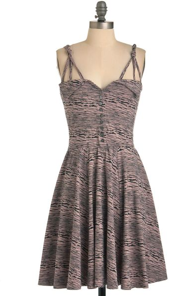 ModCloth You Crackle Me Up Dress - Lyst