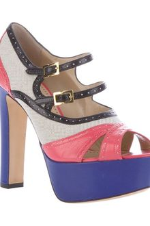 Moschino Cheap & Chic Colourblock Sandal - Lyst