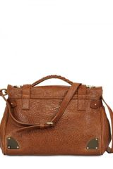 Mulberry Soft Travel Soft Mattè Top Handle in Brown - Lyst