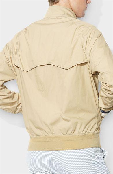Polo Ralph Lauren Barracuda Jacket In Beige For Men
