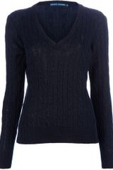 Ralph Lauren Blue Label Knit Sweater - Lyst