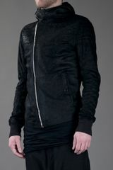 Rick Owens Scuba Jacket in Black for Men - Lyst