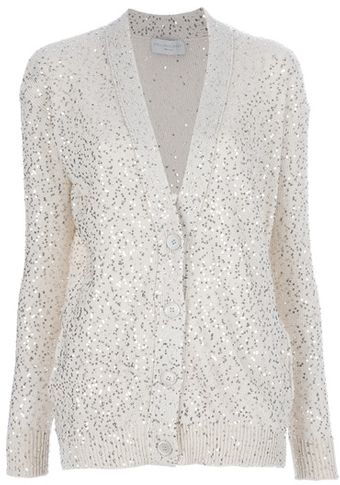 Stella McCartney Knitted Cardigan - Lyst