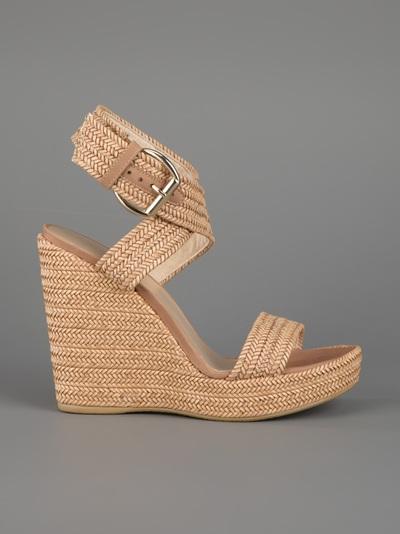 Stuart Weitzman Encore Wedge Sandals cheap best wholesale cheap sale fake 2015 for sale cheap sale pictures 0v06z815