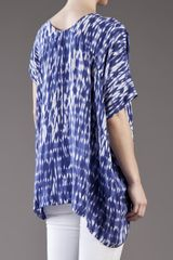 Thakoon Addition Asymmetric Tunic in Blue - Lyst