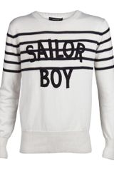 Unconditional Sailor Boy Embroidered Pullover - Lyst